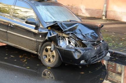 Осмотра места дорожно-транспортного происшествия